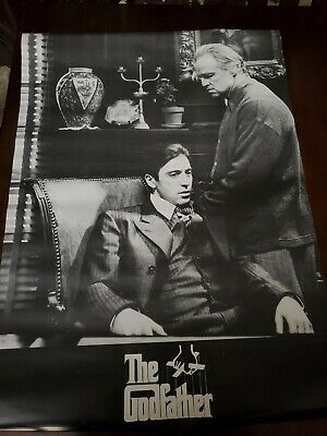 THE GODFATHER MOVIE POSTER Al Pacino Marlon Brando 1218