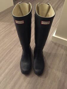 Hunter Rubber Boots - Size 8 1/2
