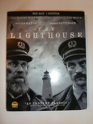 The Lighthouse Blu-ray dark thriller movie keepers Willem Dafoe Robert Pattinson