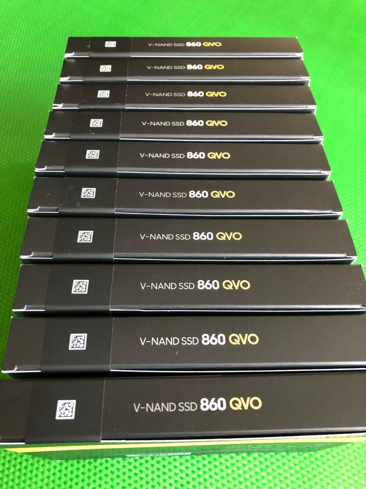 Samsung 860 QVO 1TB SATA III 2.5 1T SSD Internal SSD MZ-76Q1T0BW - Brand New