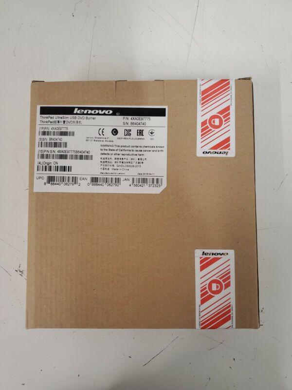 4XA0E97775 - ThinkPad UltraSlim USB DVD Burner Lenovo Brand New