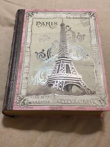 Pink Paris storage box