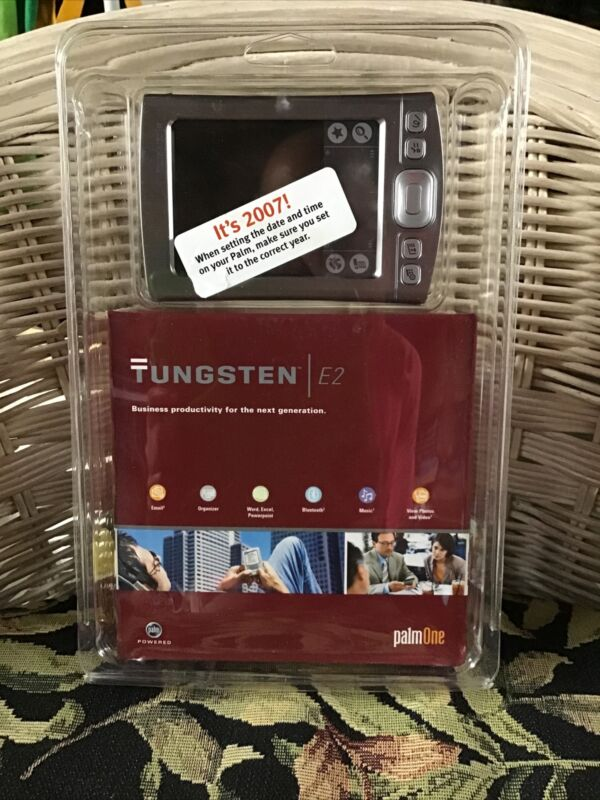 🔥NIP Tungsten E2 Palm PalmOne Bluetooth Handheld PDA Sealed Packaging! 1045NA🔥
