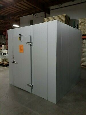 New 10 X 10 X 8 Walk-in Freezer Made W 100 Us Made Materials...only 5500