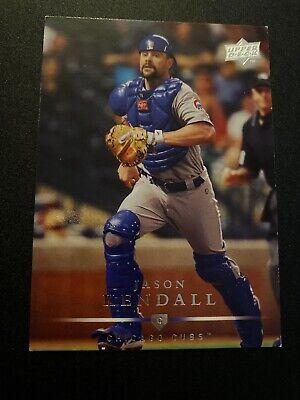 2008 Upper Deck Chicago Cubs Baseball Card #76 Jason Kendall 2008 Upper Deck Baseball Cards