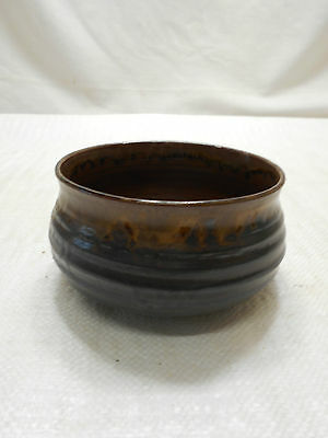 Japanese Tea Ceremony Pottery Bowl Chanoyu Traditional Vintage  #98