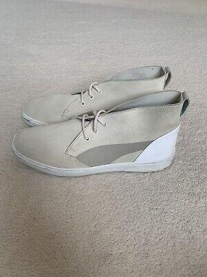 Puma X Hussein Chalayan Cream Urban Motus Chukka Boots Size UK 9