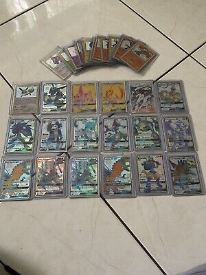 33 Pokemon Hidden Fates Cards Including TwoGold Cards Tapu LeLe And Tapu Koko!