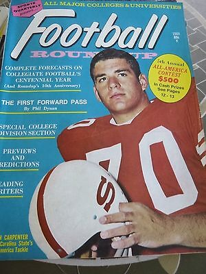 1969 Issue of the Annual College Football Magazine Ron Carpenter Cover