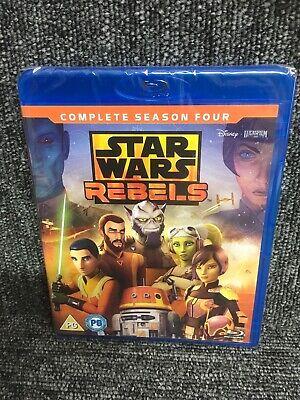 Star Wars Rebels: Complete Season 4 [Blu-ray] New. Sealed. Freepost In Uk