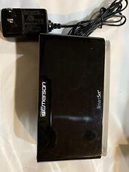 Emerson SmartSet Alarm Clock Radio with Bluetooth Speaker