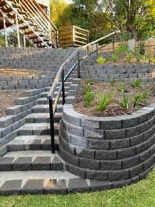 Landscaping - paving - retaining walls - decking ! Free quote!