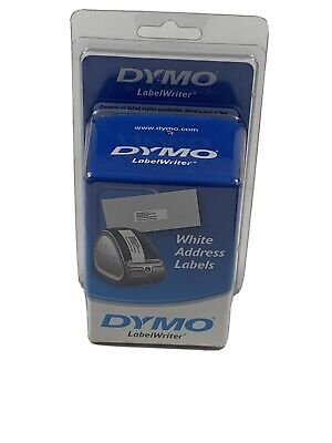 Dymo Labelwriter Address Labels 1 18 X 3 12 White 260 Labelsroll 2 Pack 520
