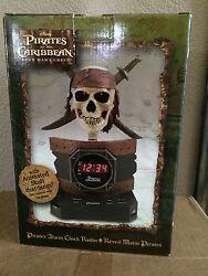 PIRATES OF THE CARIBBEAN DEAD MAN'S CHEST Alarm Clock Radio