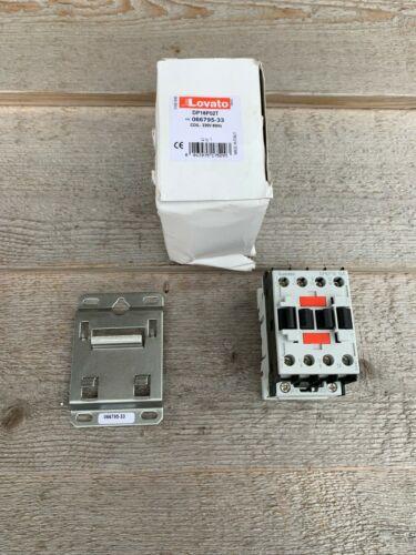 NEW Lovato DPBF1810A 3-pole definite purpose contactor rated 7.5 H.P. @ 230 volt
