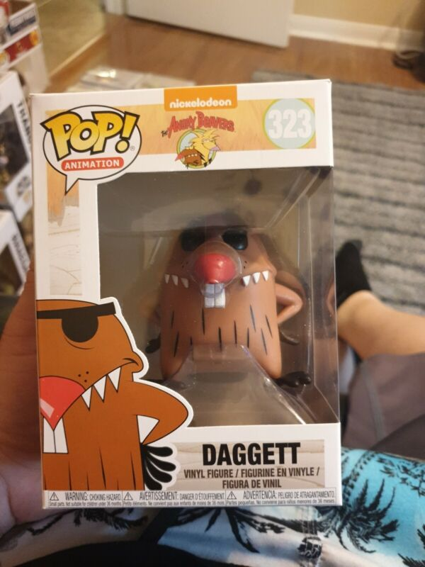 Funko 13060 Television Dagget Other Nickelodeon Angry Beavers Daggett Pop Viny