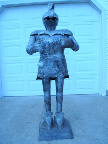 Knight Statue Medieval Gothic Armor Replica Life Size
