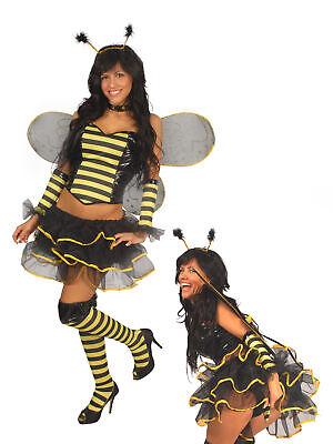 Halloween Karneval sexy Kostüm Minirock Biene Erwachsene Damen - Erwachsenen Bienen Kostüme