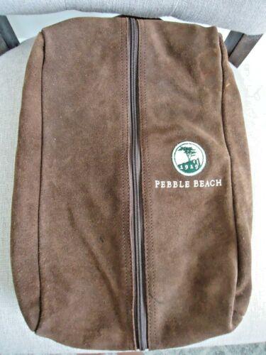 Pebble Beach Golf Shoe Bag Suede