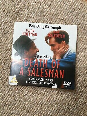 DEATH OF A SALESMAN DVD Dustin Hoffman John Malkovich