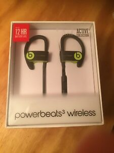 Shock Yellow Power Beats 3 Wireless by Dr. Dre