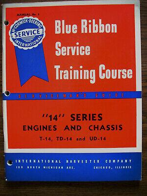 Ih Farmall International Mccormick T14 Td14 Ud14 Service Manual
