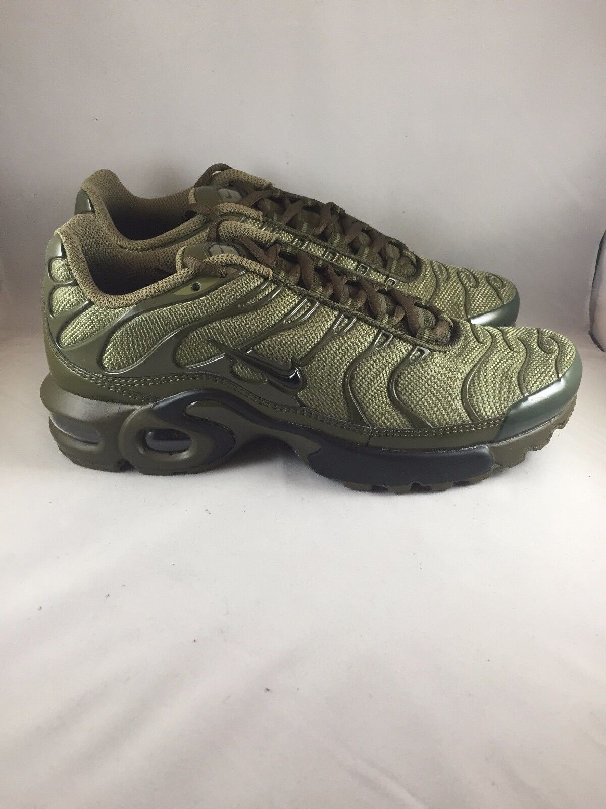 reputable site 4e68f 70310 Nike Air Max Plus (GS) Tn Tuned Cargo Olive Green , 655020 200 all sizes