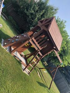 Wooden play structure for sale