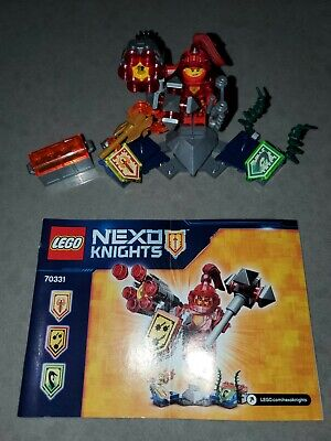 LEGO Nexo Knights ULTIMATE MACY 70331 Minifigure Castle complete