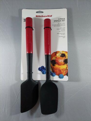 KitchenAid 2 Piece Silicone Spatula Set Scraper Spatula/Spoo