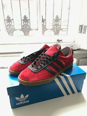 Adidas London City Series Size Uk 9 Red / Black - New