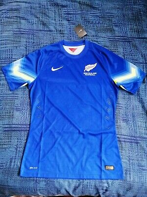 New Zealand Nike PLAYER ISSUE Soccer Jersey GK 2014 Size L image