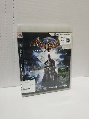 Batman: Arkham Asylum PlayStation 3 PS3, used for sale  Shipping to Nigeria