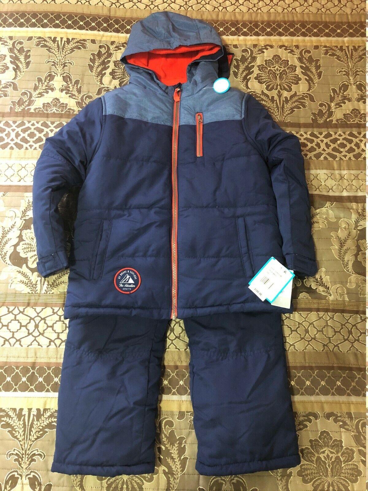 BNWT Carter's Boys 2-Piece Snowsuit Set Size 7