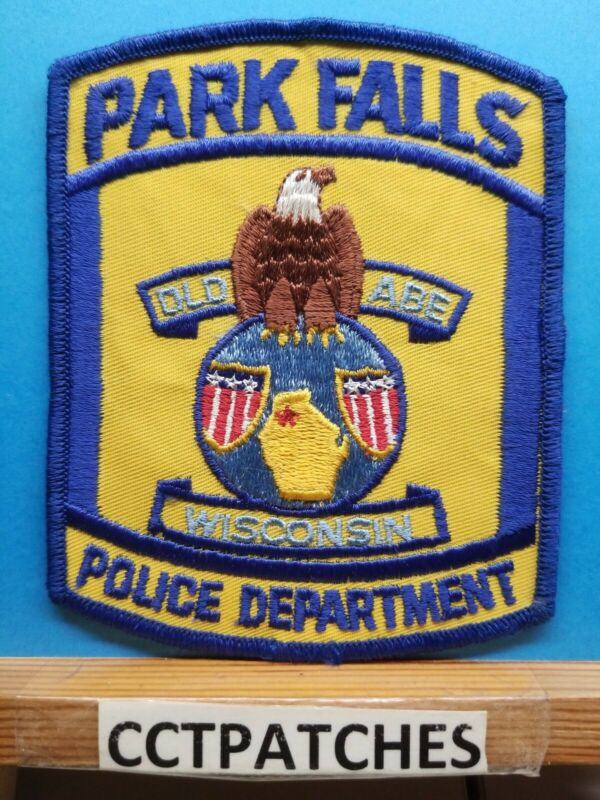 PARK FALLS, WISCONSIN POLICE SHOULDER PATCH WI