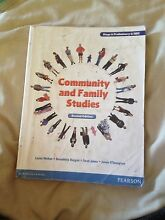 Community and Family Studies 2nd Edition Preliminary and HSC Text Westmead Parramatta Area Preview