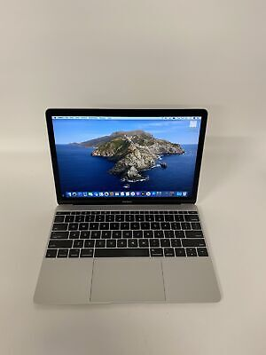 "Apple 2017 MacBook 12"" Retina 1.2GHz m3 8GB 256GB SSD AppleCare+"