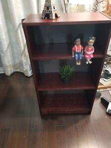 4 Tier Wooden Book Shelf