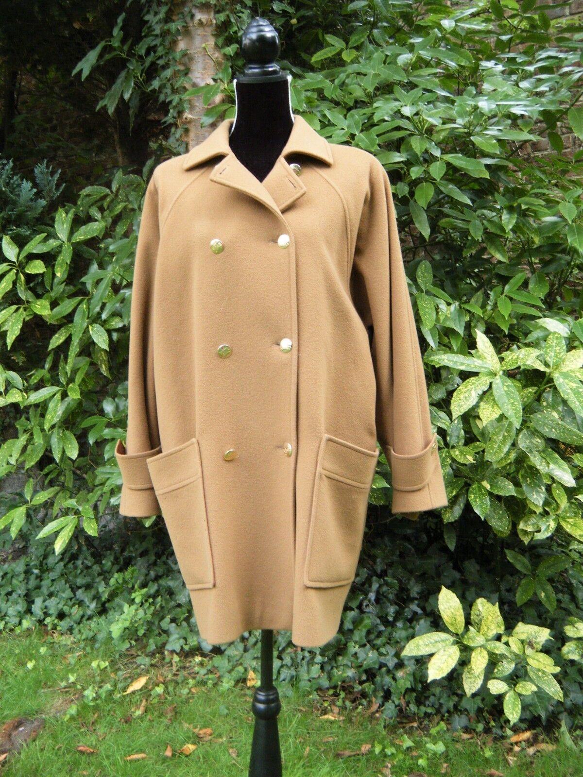 Burberry's prorsum manteau veste femme vintage laine et cachemire taille 42