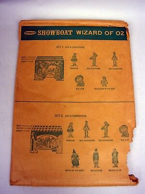 Remco Showboat Theatre Playset 1962 Wizard of Oz Backdrops](Wizard Of Oz Backdrop)