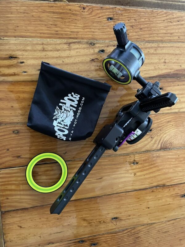 Spot Hogg Fast Eddie XL Right Hand Double Pin Bow Sight (With extras )
