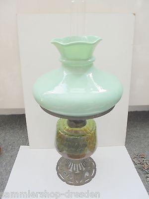 25672 antike Petroleumlampe 1900 paraffin lamp 50cm all original