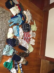 Large lot of baby clothes boy and gender neutral