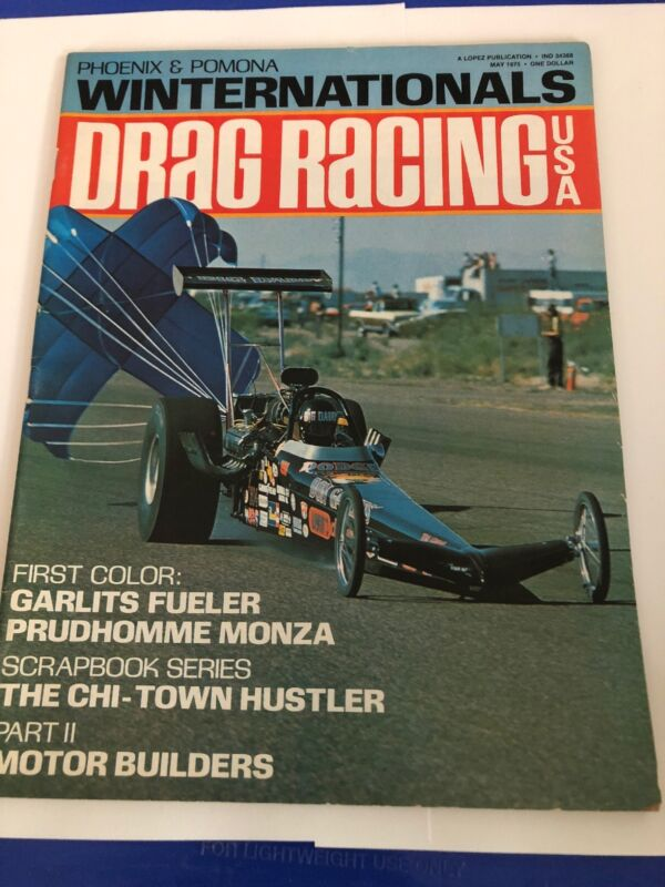May 1975 Drag Racing Magazine