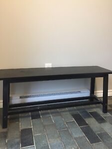 Black bench from winners