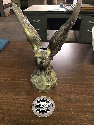 Vintage Brass Weathervane Eagle