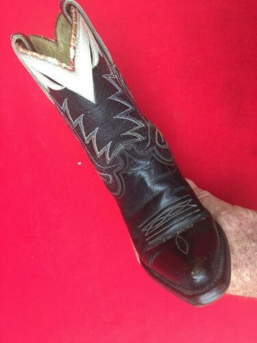 Vintage Childs Handmade Western Cowboy Collectible Boot