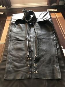 Leather Walter Dyer Bike Rider Chaps / Coverall