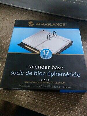 At-a-glance 17 Seriescalendar Base Plastic Black E17-00new