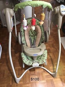 Baby swing,jumperoo,toys,cups,marble set,soft toys,jumper